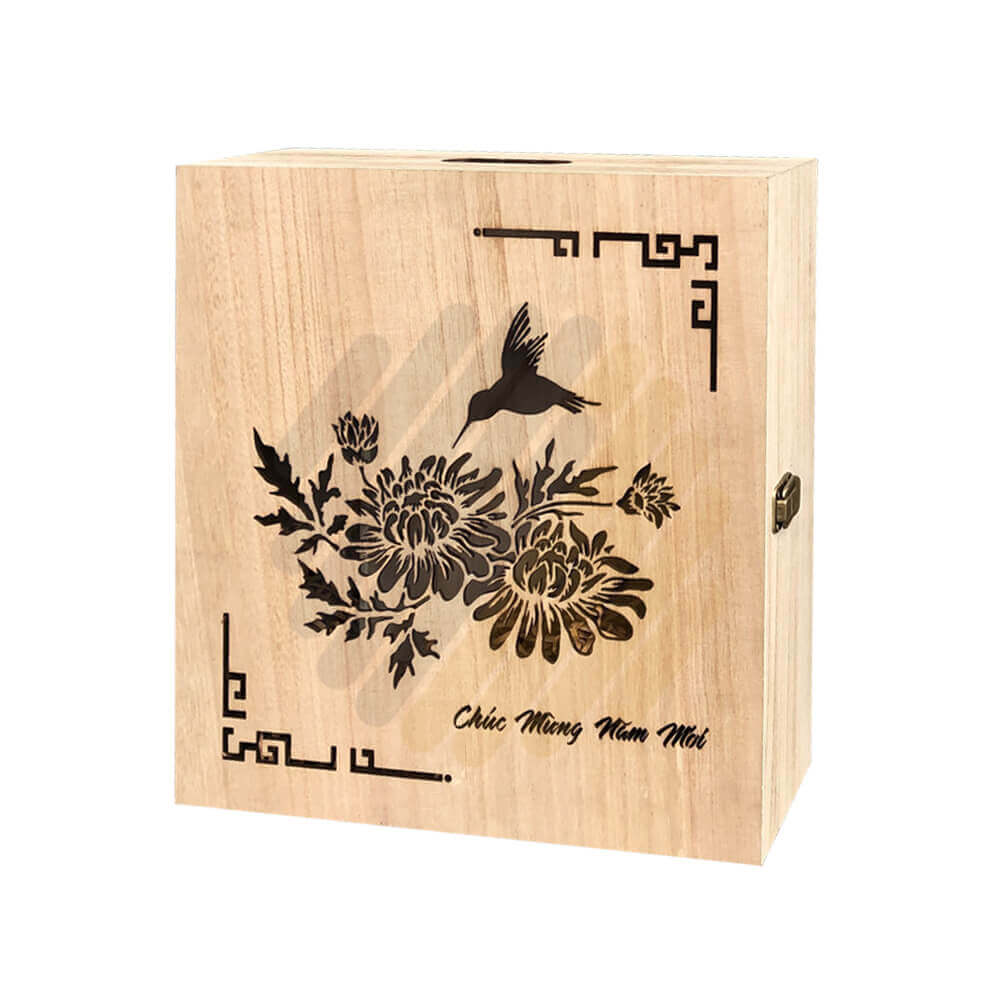Hộp quà gỗ Q01