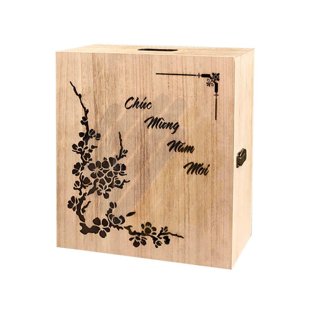 Hộp quà gỗ Q02