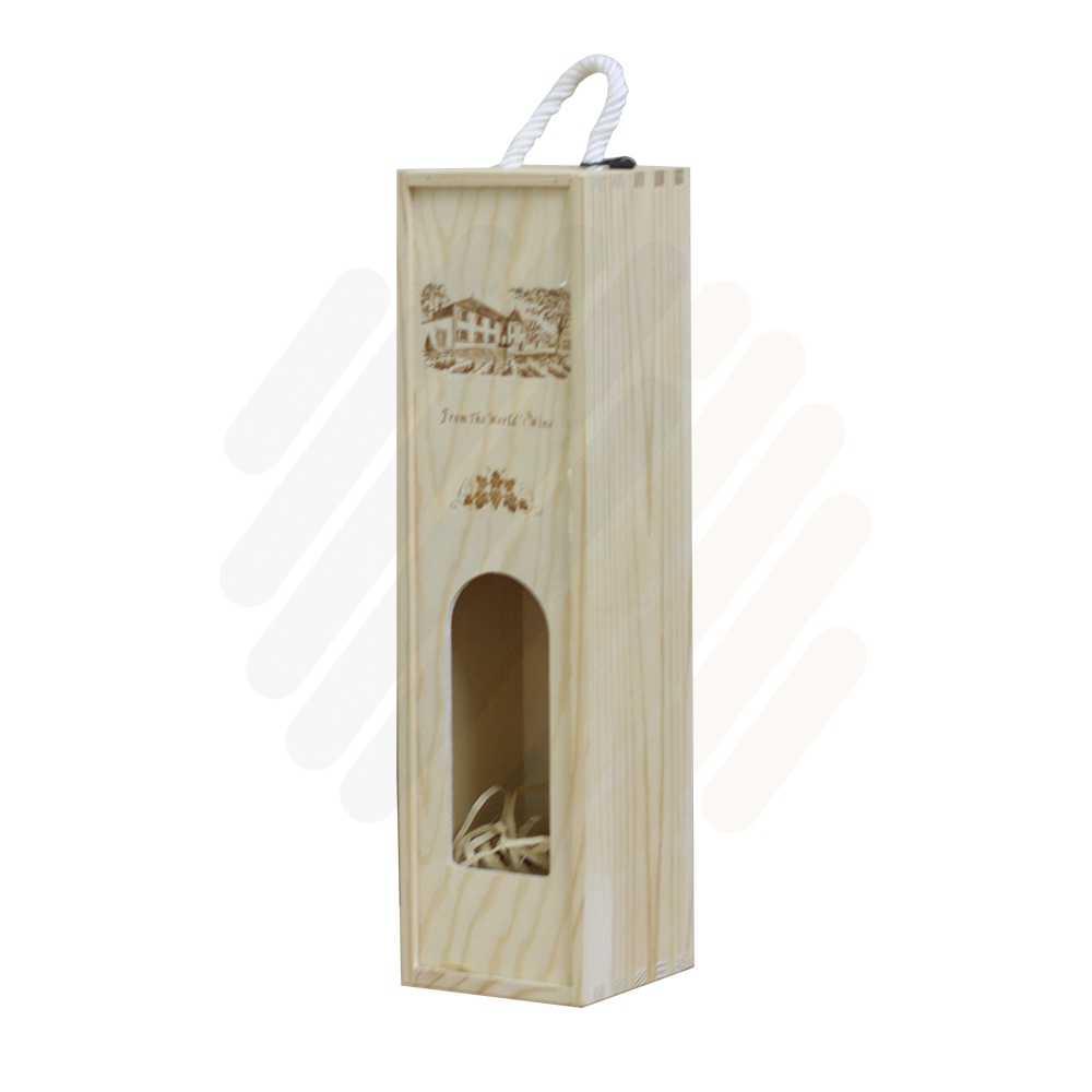 Hộp rượu gỗ LB017