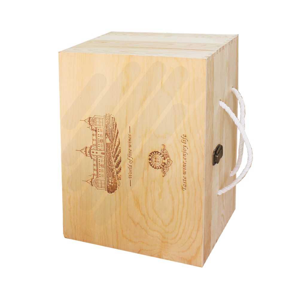 Hộp rượu gỗ LB009