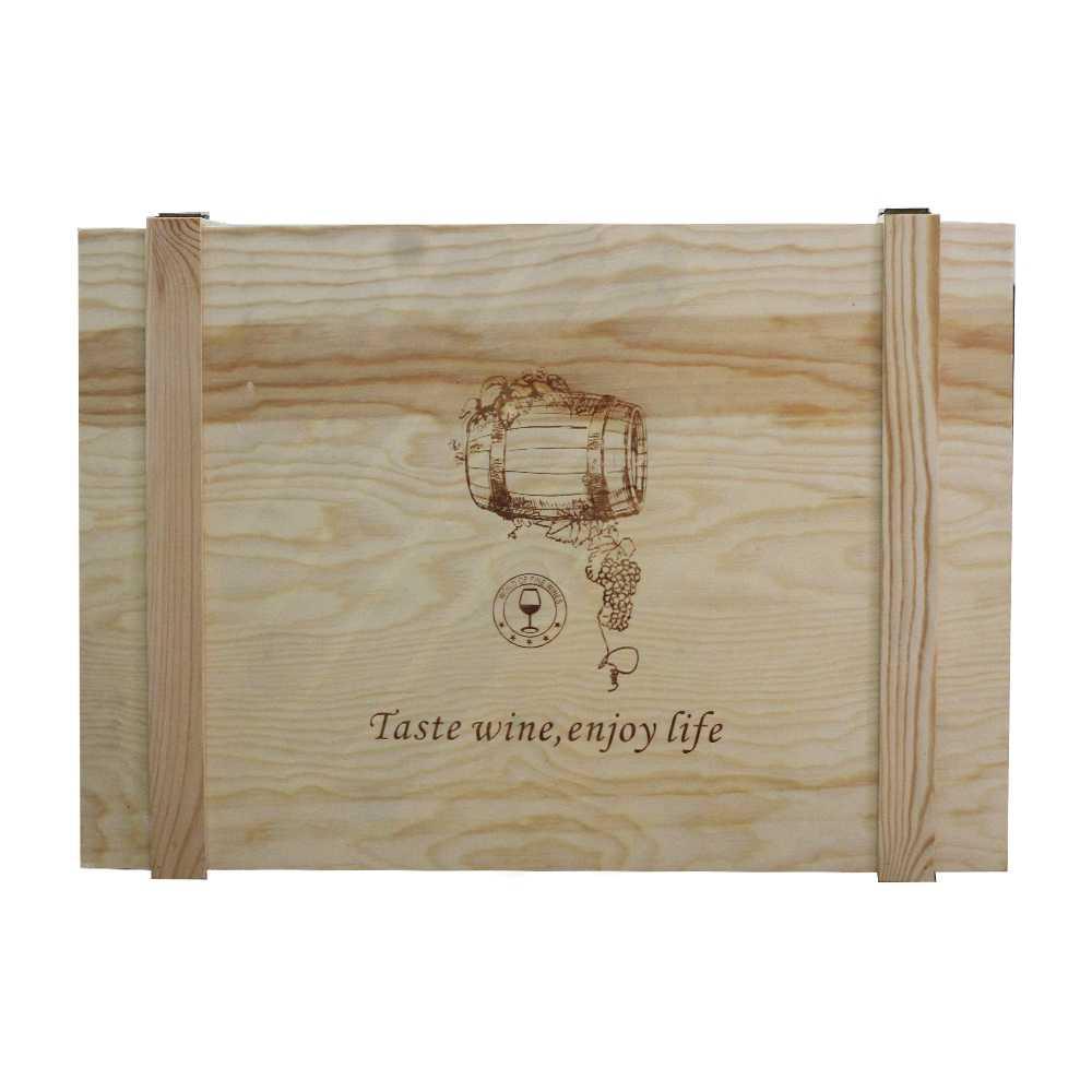 Hộp rượu gỗ LB013