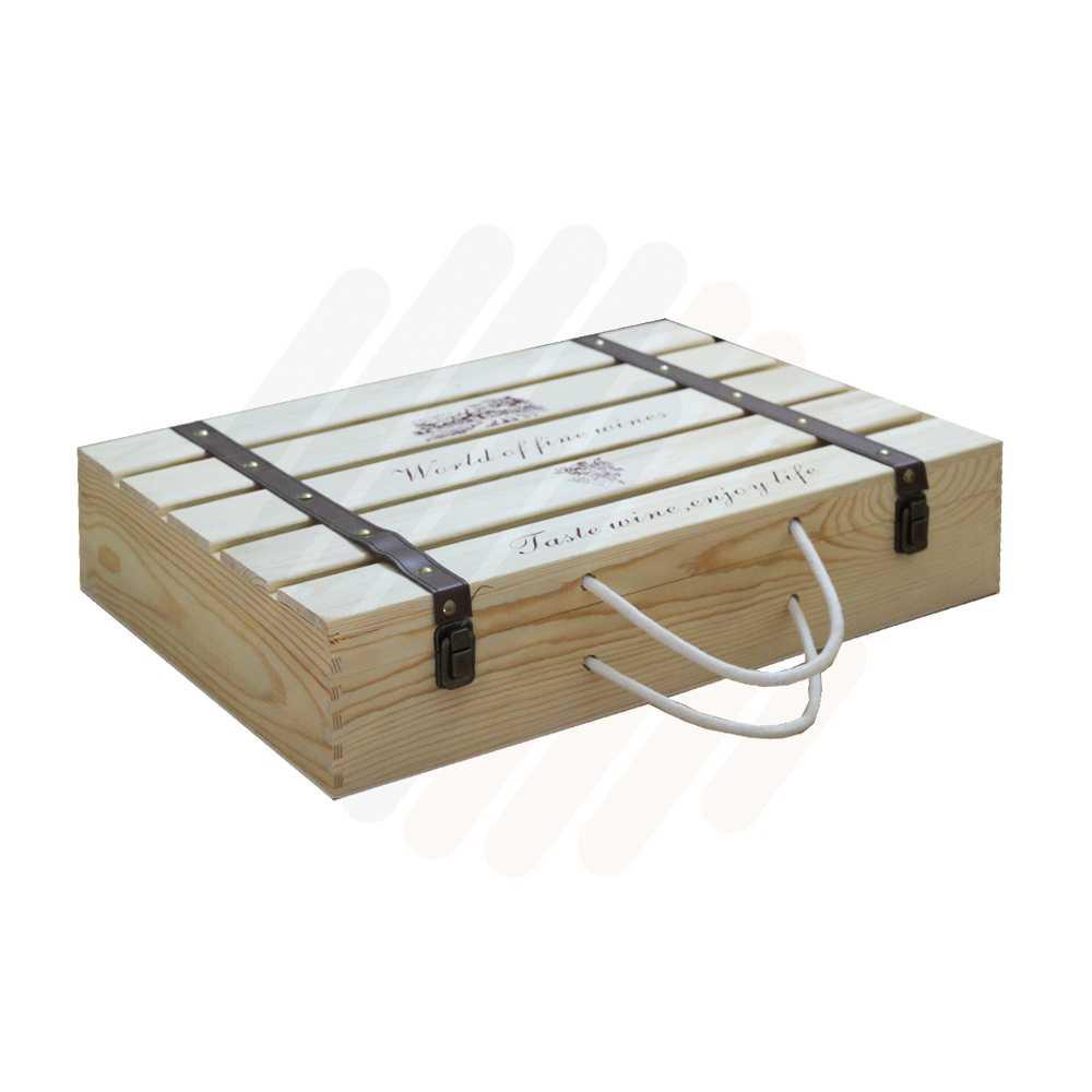 Hộp rượu gỗ LB014