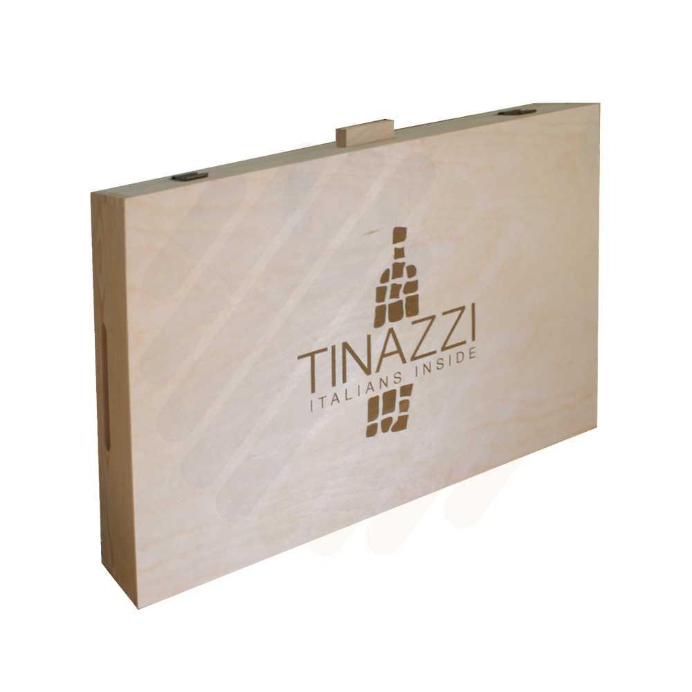 Hộp rượu gỗ Tinazzi 6 chai