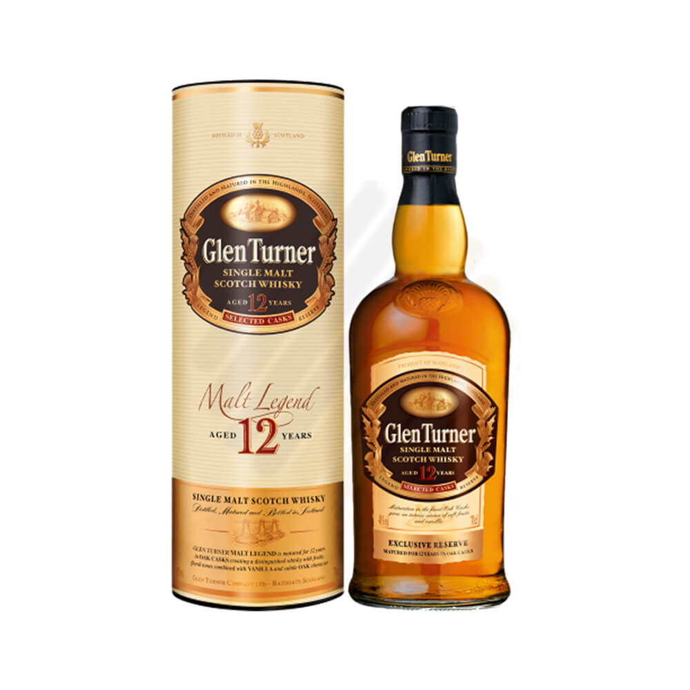 Rượu Whisky Single Malt Scotch Glen Turner 12 Years