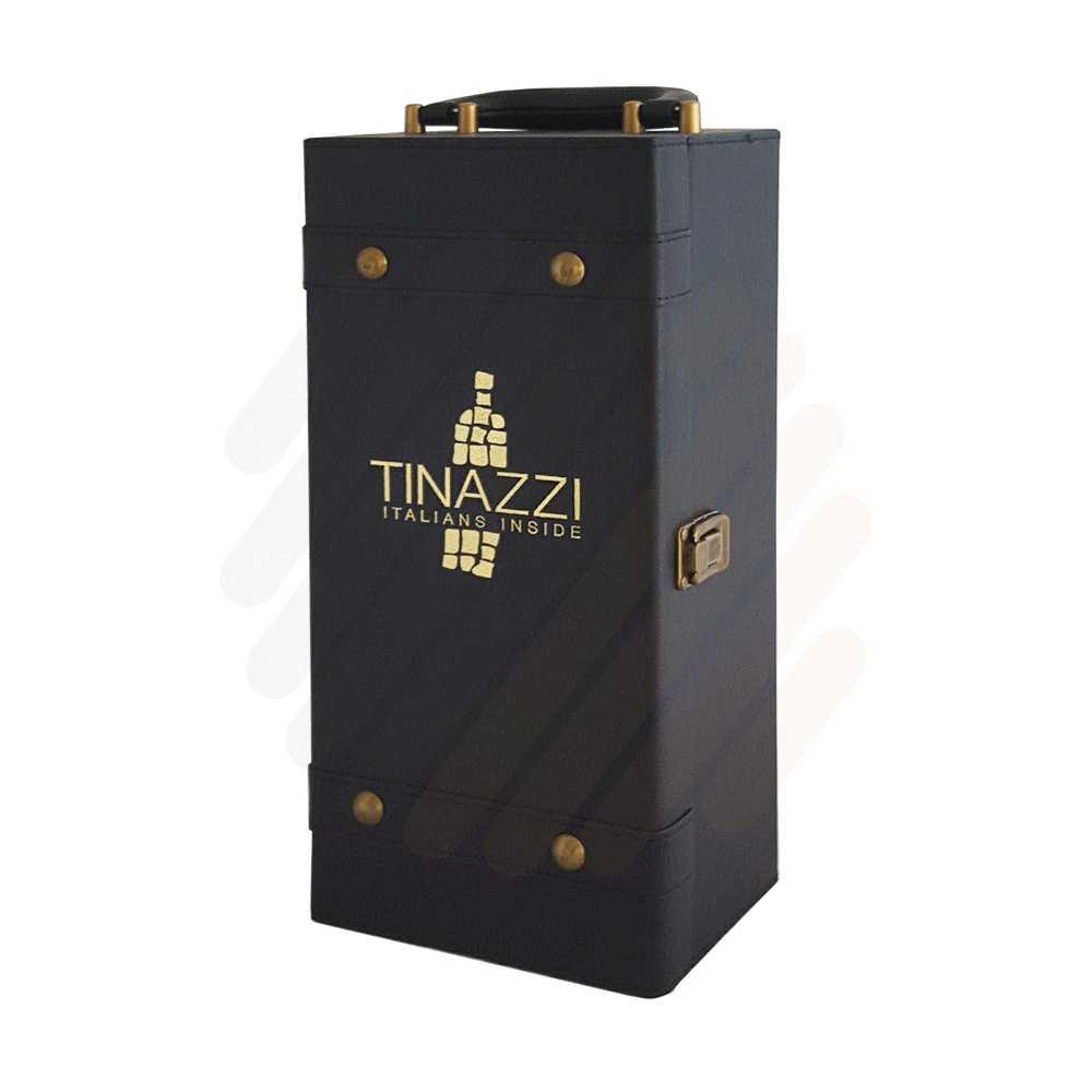 Hộp rượu da Tinazzi đơn