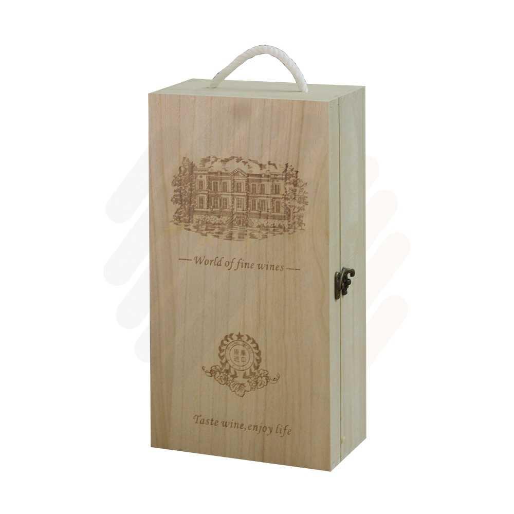 Hộp rượu gỗ LB002